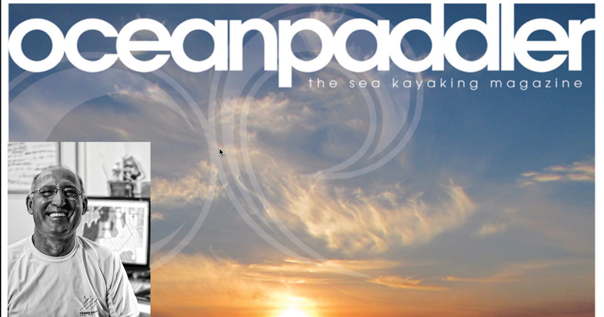 Karel featured in Ocean Paddler Magazine